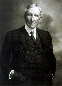 Джон Рокфеллер - самый богатый бизнесмен в истории
